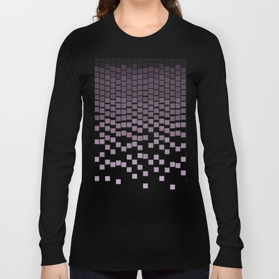 Pixel Rain Long Sleeve T-shirt