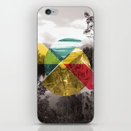 Sojourn series - Lake Mathieson iPhone Skin