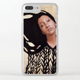 Reina Clear iPhone Case
