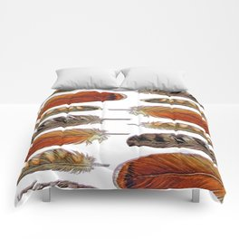 Raptor Feathers Comforters