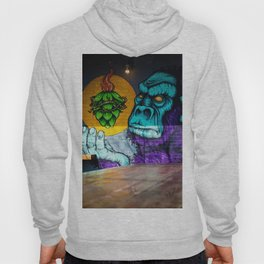 Urban Gorilla Graffiti Art Hoody