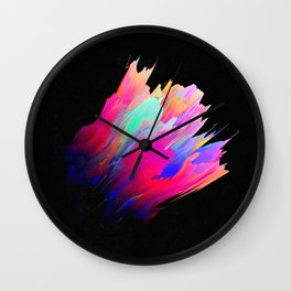 Panteleḗmōn (Abstract 38) Wall Clock