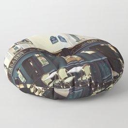 Cafe Culture Floor Pillow