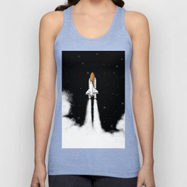 Shuttle Launch Unisex Tank Top