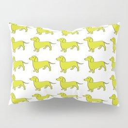 Doxie Love - Lime Pillow Sham