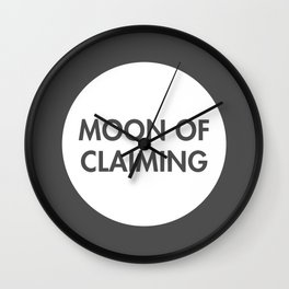 Moon of Claiming (Celtic) Wall Clock