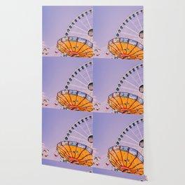 Swing Ride Sunset (Color) Wallpaper