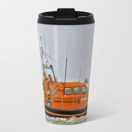 Hoylake Lifeboat (Digital Art) Travel Mug