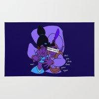 aladdin Area & Throw Rugs featuring Keep Calm: Aladdin by NomadicArt