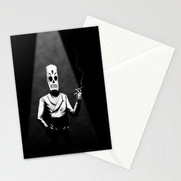 Manny Calavera Stationery Cards