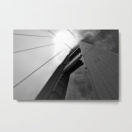 The Golden Gate Bridge Metal Print