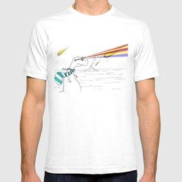Hipster Laser Dinosaur T-shirt