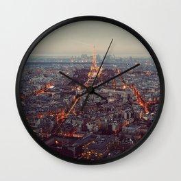 Paris Wall Clock