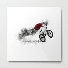 BMX Bike Sport Metal Print