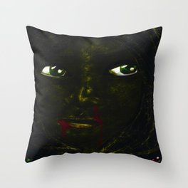 Bruised & Contused Throw Pillow