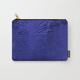 VINTAGE INDIGO FABRIC Carry-All Pouch