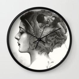 Requiro - pencil drawing Wall Clock