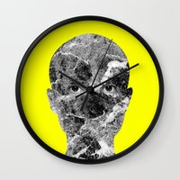 conan Wall Clocks featuring Conan by Tyler Spangler
