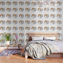 Spiral cats Wallpaper
