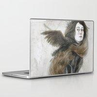 inner demons Laptop & iPad Skins featuring Demons by Jana Heidersdorf Illustration