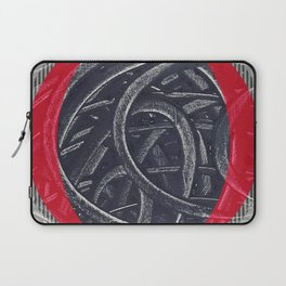 Junction- red graphic Laptop Sleeve