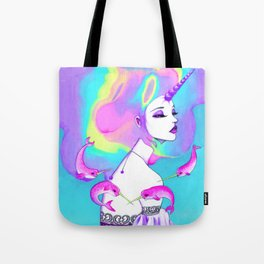 Lady Amalthea Tote Bag
