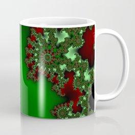 Mandelbrot - Green Coffee Mug