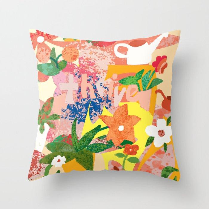 Thriving Garden Deko-Kissen