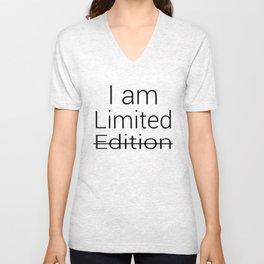 I am Limited Edition Unisex V-Neck