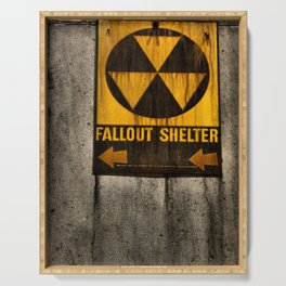 Fallout Shelter Serving Tray