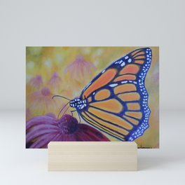 King of butterfly | Le roi des papillons Mini Art Print