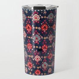 Lakai Suzani Shakhrisyabz Uzbek Embroidery Print Travel Mug