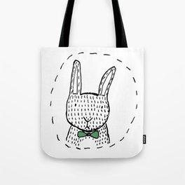 Mister Rabbit Tote Bag