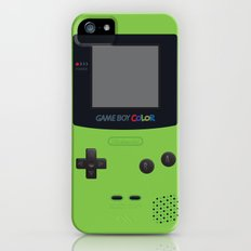 GAMEBOY Color - Green iPhone (5, 5s) Slim Case
