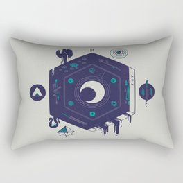 Crescent Rectangular Pillow