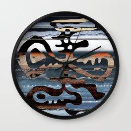 buried symbol Wall Clock