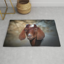 The Young Goat Rug