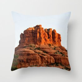 Bell Rock At Sunrize Throw Pillow