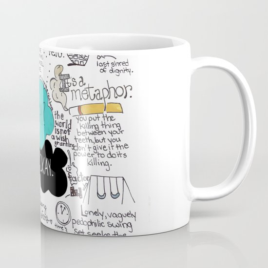 The Fault in Our Stars- John Green Mug