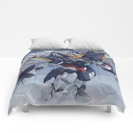 Gundam Wing Zero watercolor Comforters