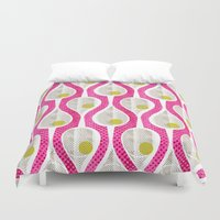 tennis Duvet Covers featuring tennis by ottomanbrim