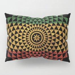 Rasta Flower of Life Pillow Sham
