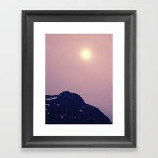 Antarctic Sun Framed Art Print