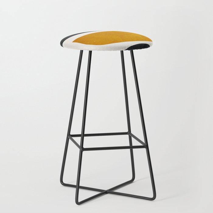 abstract minimal 23 Bar Stool
