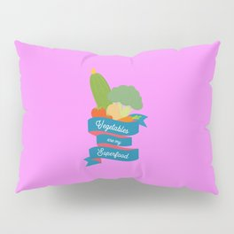 Vegetables Superfood T-Shirt for all Ages D4oth Pillow Sham