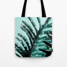 Leaves 2 Geometry Tote Bag