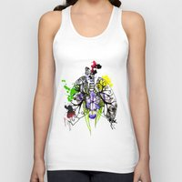 lungs Tank Tops featuring Lungs by Nadia Cruikshanks