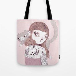 Cats > Catcalls Tote Bag