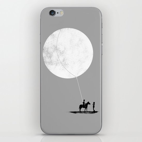 do you want the moon? iPhone Skin