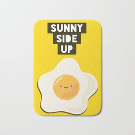 Sunny side up Bath Mat